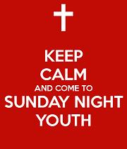 Activities Sunday Night Youth